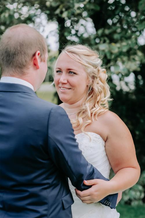 bruid bruidegom romantisch
