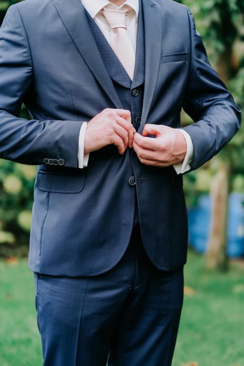 bruidegom kostuum