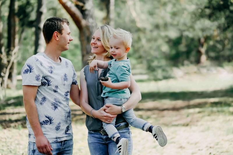 stoere foto jong gezin