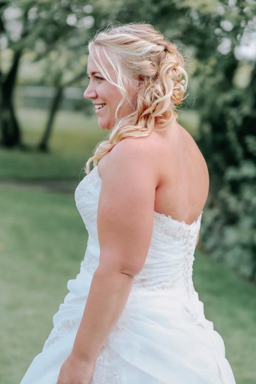 stralende bruid